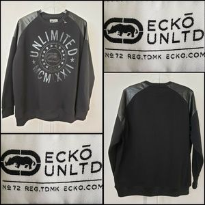 Ecko Unltd Men Sweater Long Sleeve Sweater Sz 4XB